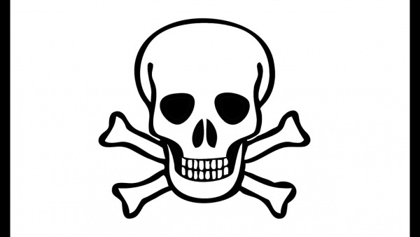 How To Draw A Pirate Skull (skeleton)