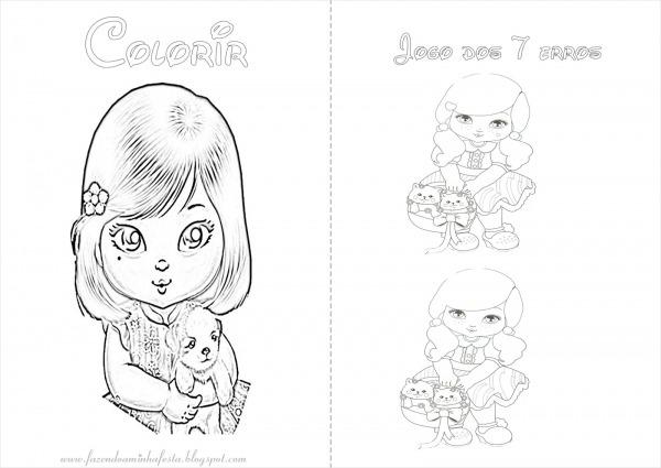 Desenhos Da Jolie Para Imprimir E Colorir
