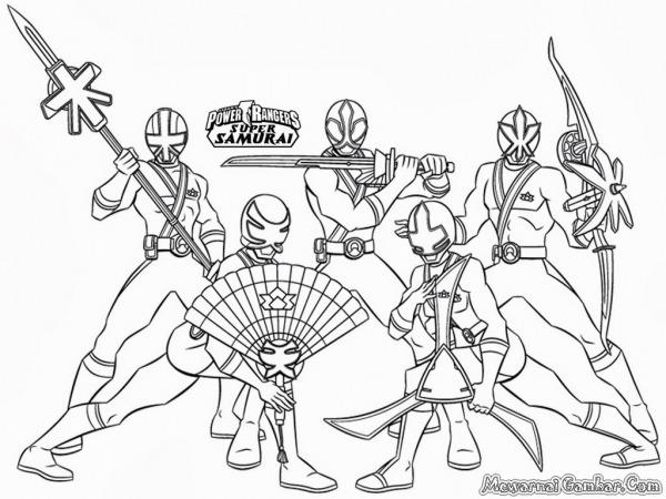 Desenho Para Colorir Power Rangers – Pampekids Net