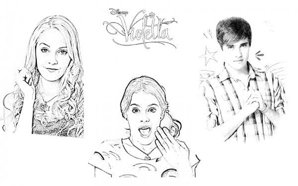 Imprimir Desenhos Da Violetta