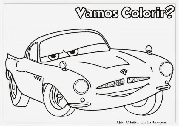 Desenhos Para Colorir Carros Disney