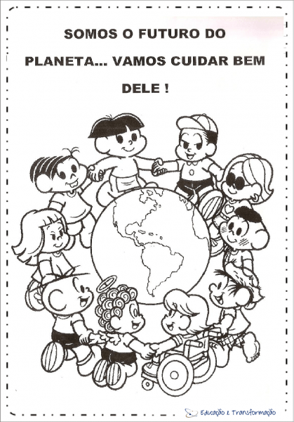 Atividades Meio Ambiente Educação Infantil Para Colorir – Educação
