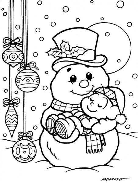 Imagens Para Colorir Natal