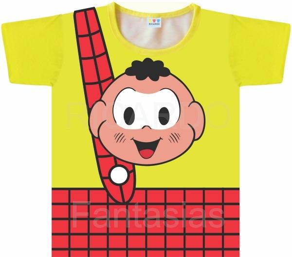 Camiseta Infantil Cascão No Elo7