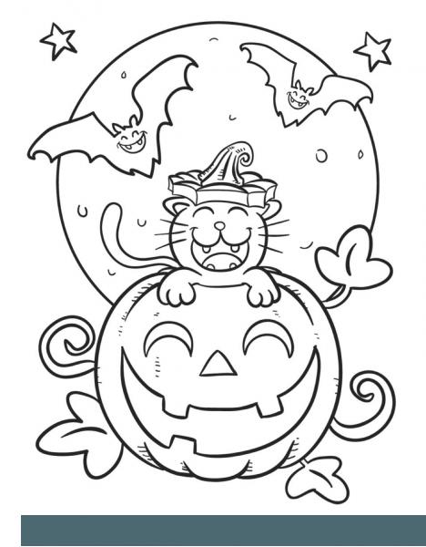 Desenhos De Halloween Para Pintar