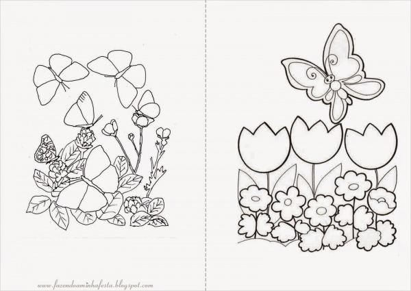 Jardim Para Colorir E Imprimir