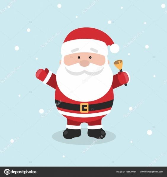 Desenho De Papai Noel Para O Natal E Ano Novo Saudação Design Ou