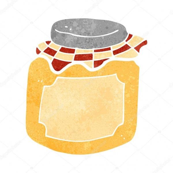 Desenho De Pote De Mel — Vetores De Stock © Lineartestpilot  29100731