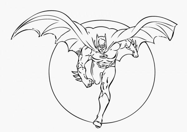 50 Desenho Para Colorir Do Batman O Mais Recente