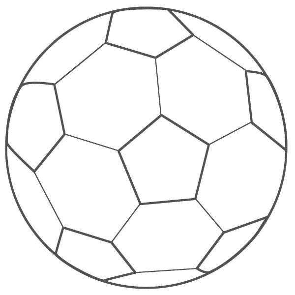 Desenhos De Bola Para Colorir – Pampekids Net