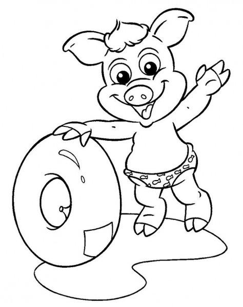 Desenho Do Cocorico Para Colorir – Pampekids Net