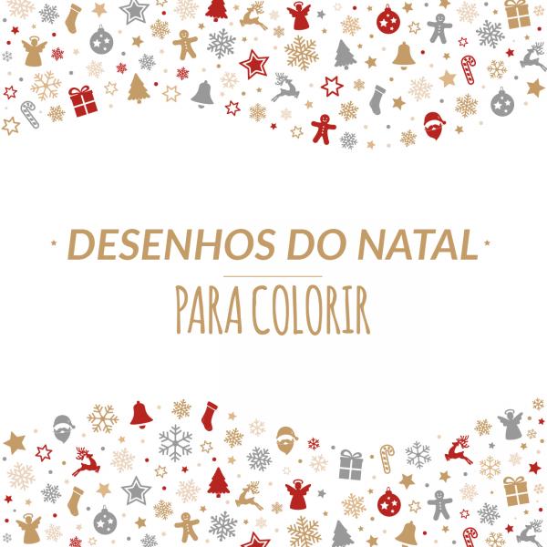 16 Desenhos De Natal Para Colorir