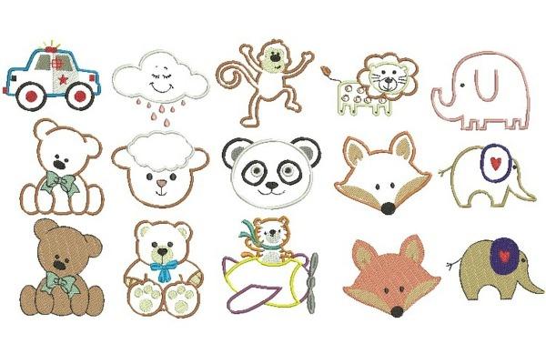 Desenhos Infantis Diversos 001 No Elo7
