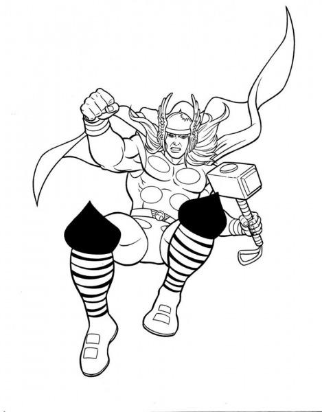Super Herois Para Colorir E Imprimir – Pampekids Net
