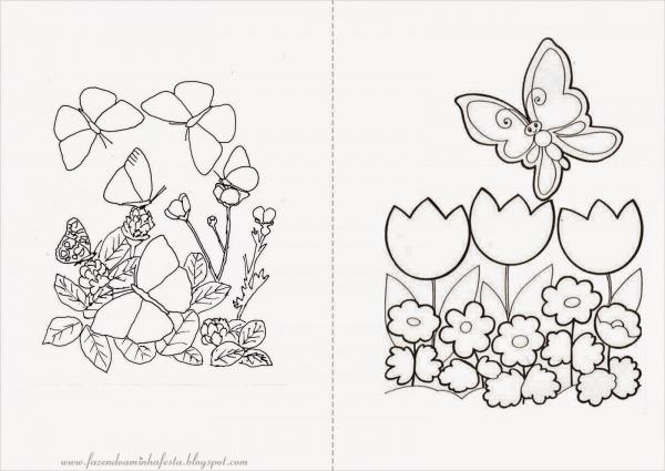 Jardim Para Colorir E Imprimir – Pampekids Net