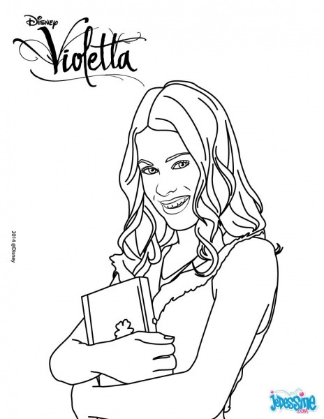Jeux De Coloriage Violetta Filename Coloring Page Free Printable