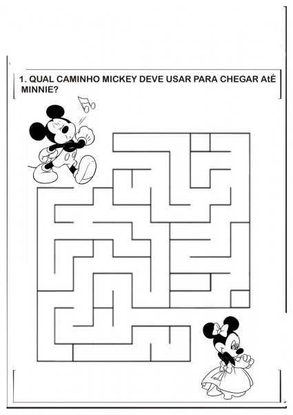 Jogos Do Mickey De Colorir – Pampekids Net