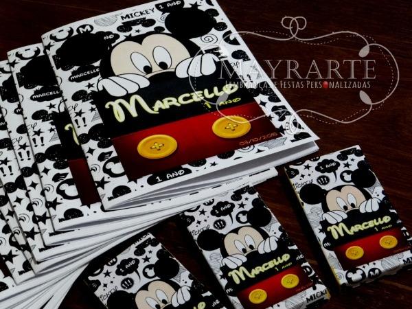Livro De Colorir Mickey