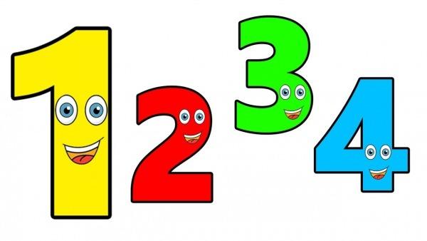 Ensinando Os Números Para Crianças