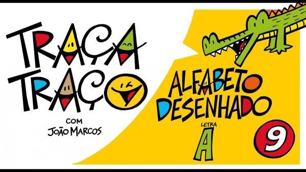 Alfabeto Desenhado  Desenhos A Partir Da Letra A