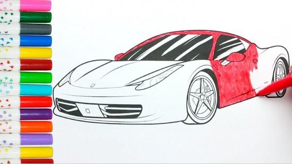 Ferrari Vermelha