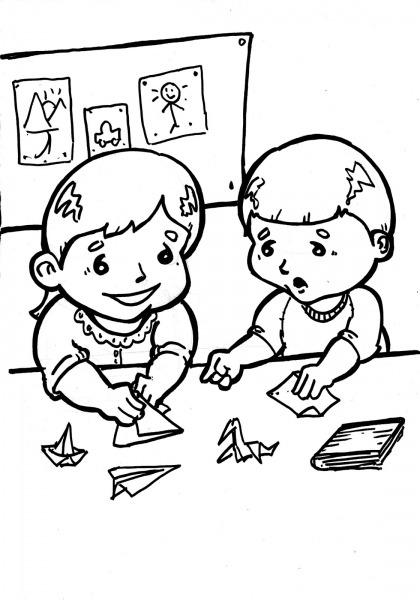 Desenho De Criança Para Pintar