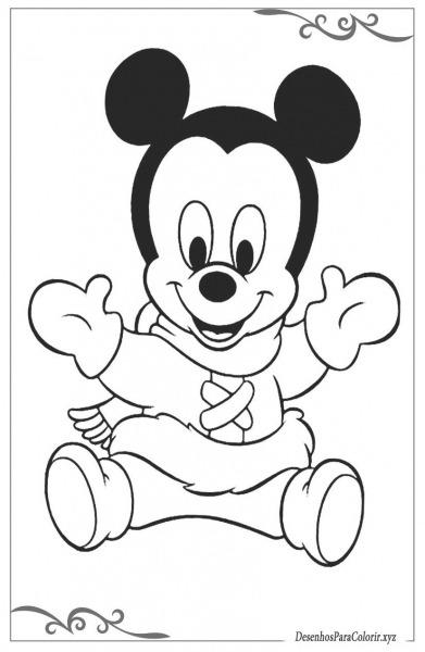 Mickey Mouse Jogos De Colorir