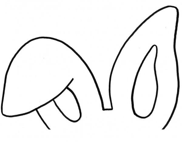 Desenho De Orelha Para Colorir – Pampekids Net
