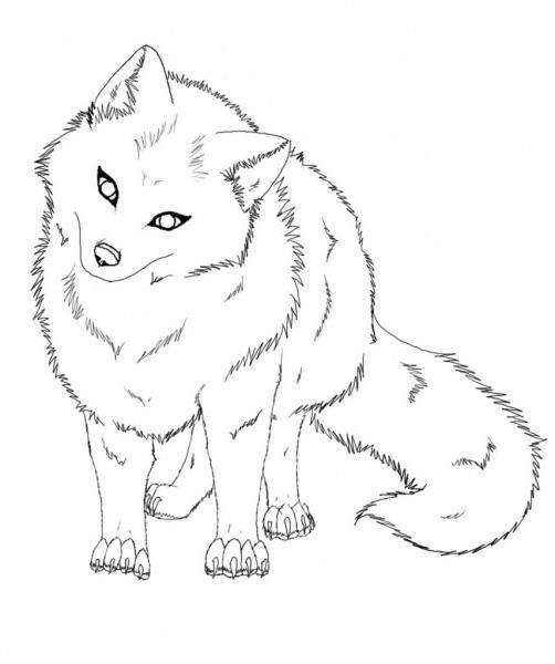 Desenhos De Raposas Para Imprimir E Colorir