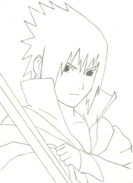 Imagens De Sasuke Para Desenhar