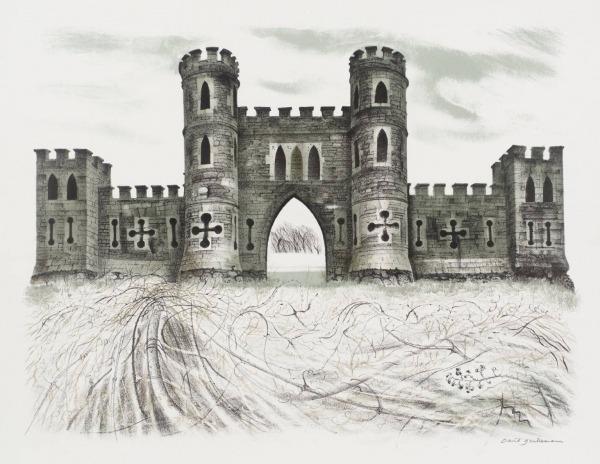 Desenho De Castelo Medieval Para Colorir