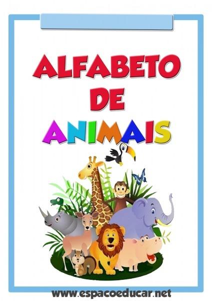 Cartazes Alfabeto De Animais Colorido Grátis Para Você Imprimir