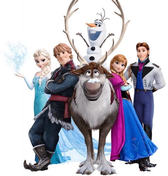 Caneca De Gel Infantil Personagens Frozen