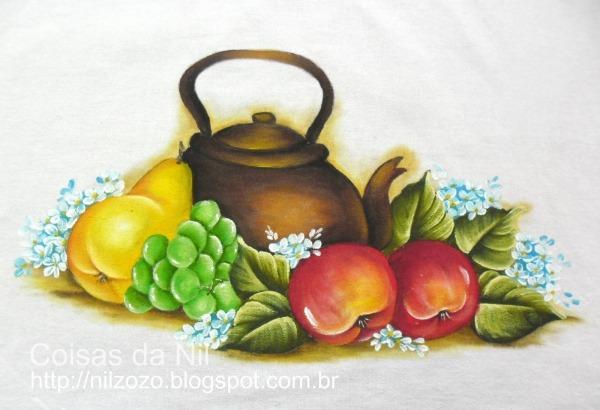 Desenhos De Frutas Para Pintura Em Tecido
