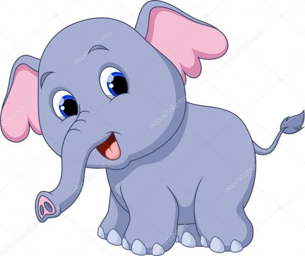 Desenho De Elefante — Vetores De Stock © Irwanjos2  53084229