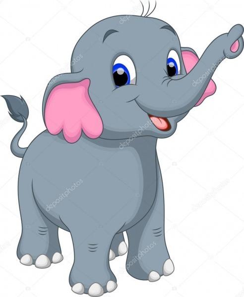 Desenho De Elefante — Vetores De Stock © Irwanjos2  53084305