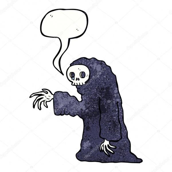 Desenhos Animados Fantasia De Halloween Assustador Com Bolha Do