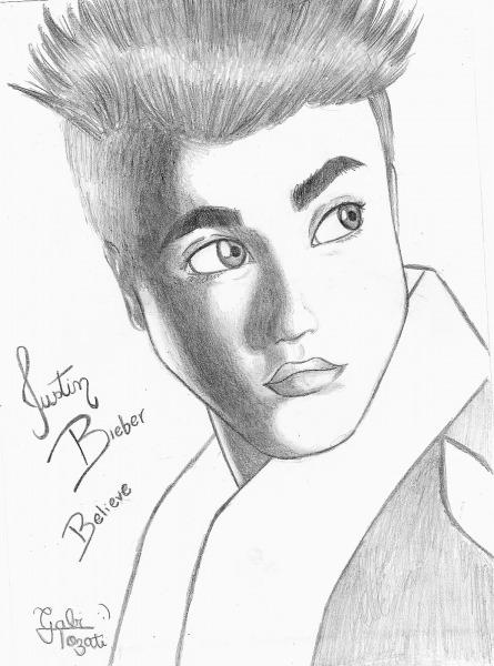 Desenhos Para Colorir Do Justin Bieber