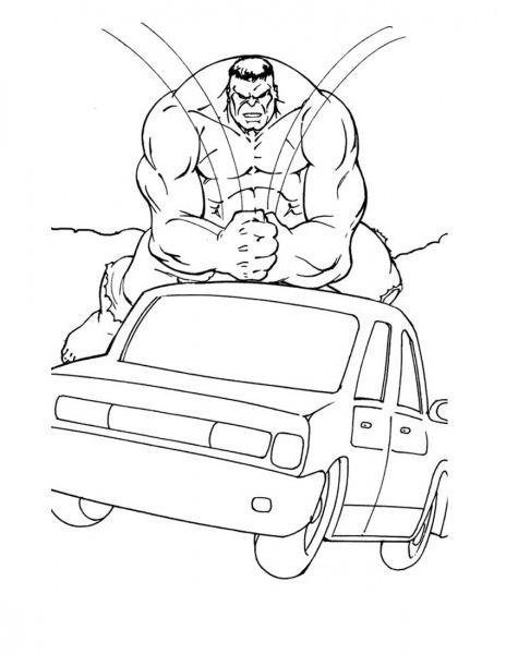 Desenhos Para Imprimir Hulk – Pampekids Net