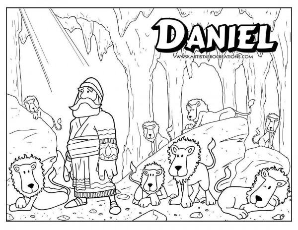 Desenhos Para Colorir De Daniel E Seus Amigos Heróis Da Bíblia