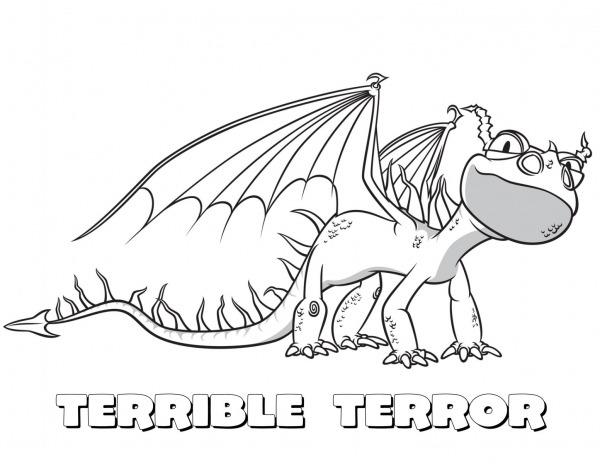 Desenhos De Terror Para Colorir