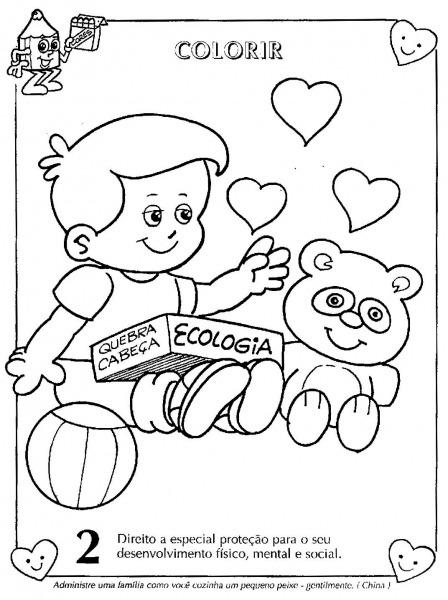 Eu Amo O Ministério Infantil  Direitos Da Criança I