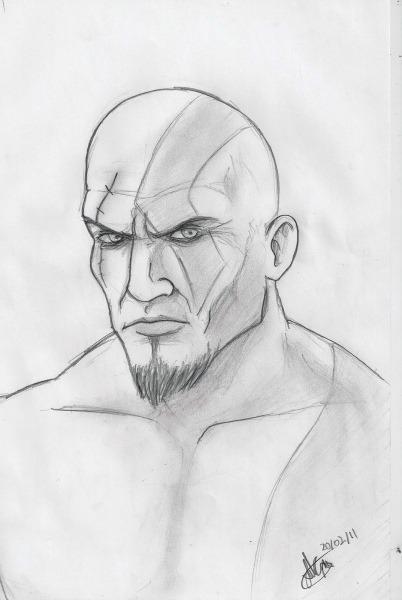 Colorir Kratos