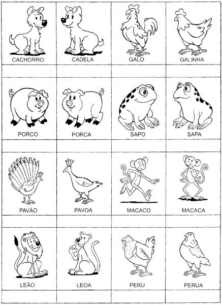 Jogos Da Memória Para Imprimir E Colorir — SÓ Escola