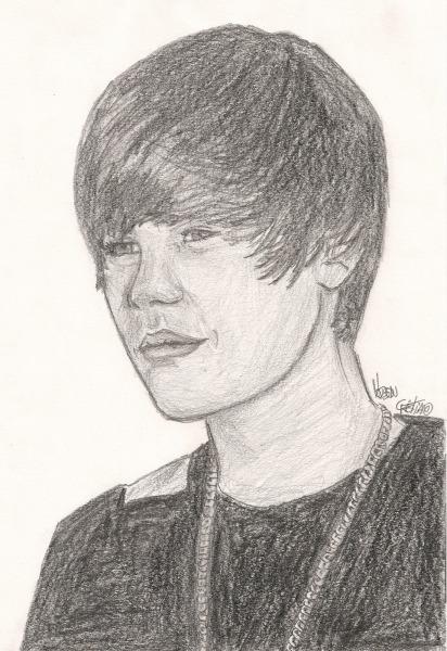 Hudson Cristiano Art's  Justin Bieber