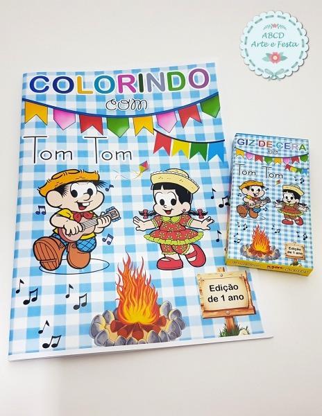 Kit Colorir Junino No Elo7