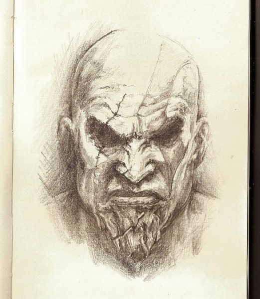 Tonight We Draw In Hell  Kratos