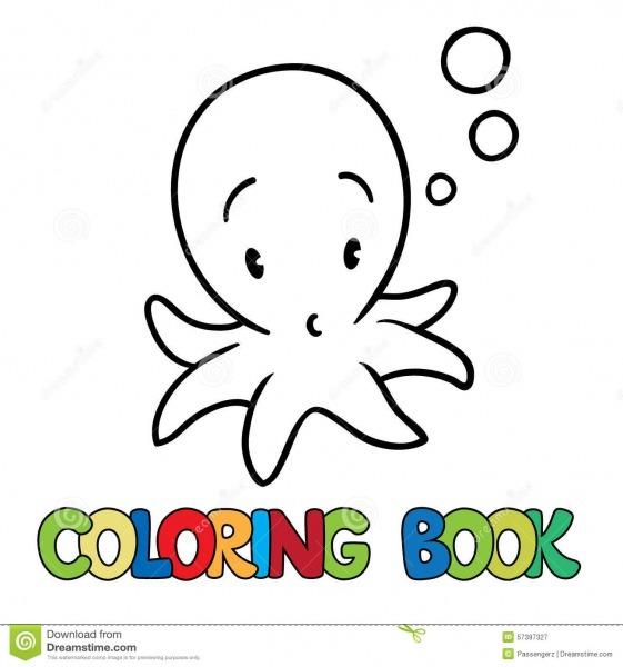 Imagens De Polvos Para Colorir – Pampekids Net