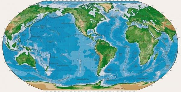 Quinto Ano Beti Eib  Continentes E Oceanos