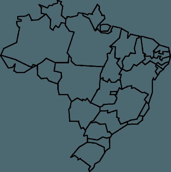 Desenho De Mapa Do Brasil
